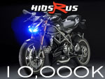 Aprilia RSV Tuono Xenon Kits Lights Conversions Headlights Bulbs 10000k Xenon lights