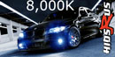 8000k Xenon Lights