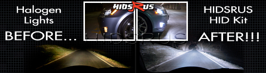 HID Kits vs Halogen